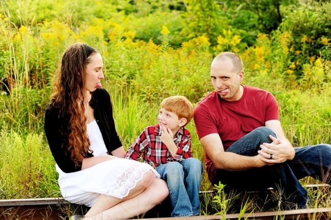 I spent an afternoon at the East End with Katie, Jason, and Raistlin for their annual family session!