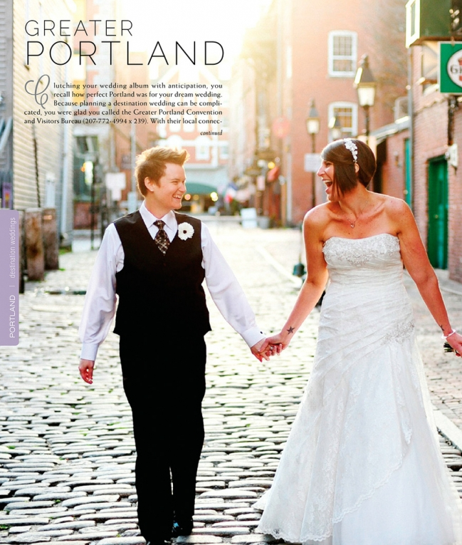 Kerri & Amy got their own page, too -- featured in the Destinations section!