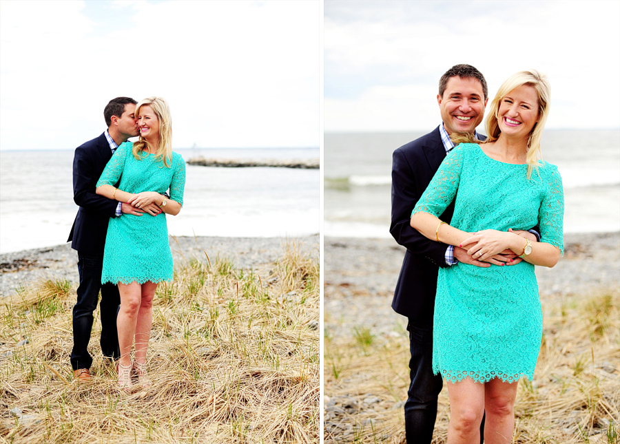 Christy Brad Engaged Kennebunkport Engagement