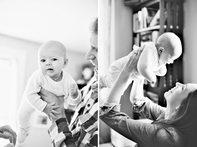 portland maine baby session, portland maine family session, maine family photographer, black and white family photos