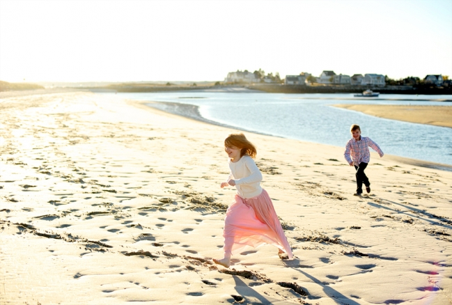 ferry beach family session, sunset family session, beach family session, scarborough maine family session, maine family photographer