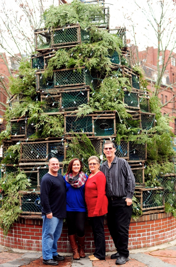 Portland Maine Christmas.Holiday Family Session In Portland Maine Carissa Marc